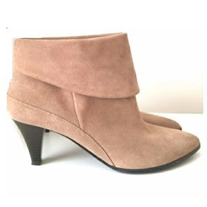 New Women's Sonoma Lana Taupe Ankle Suede Boots